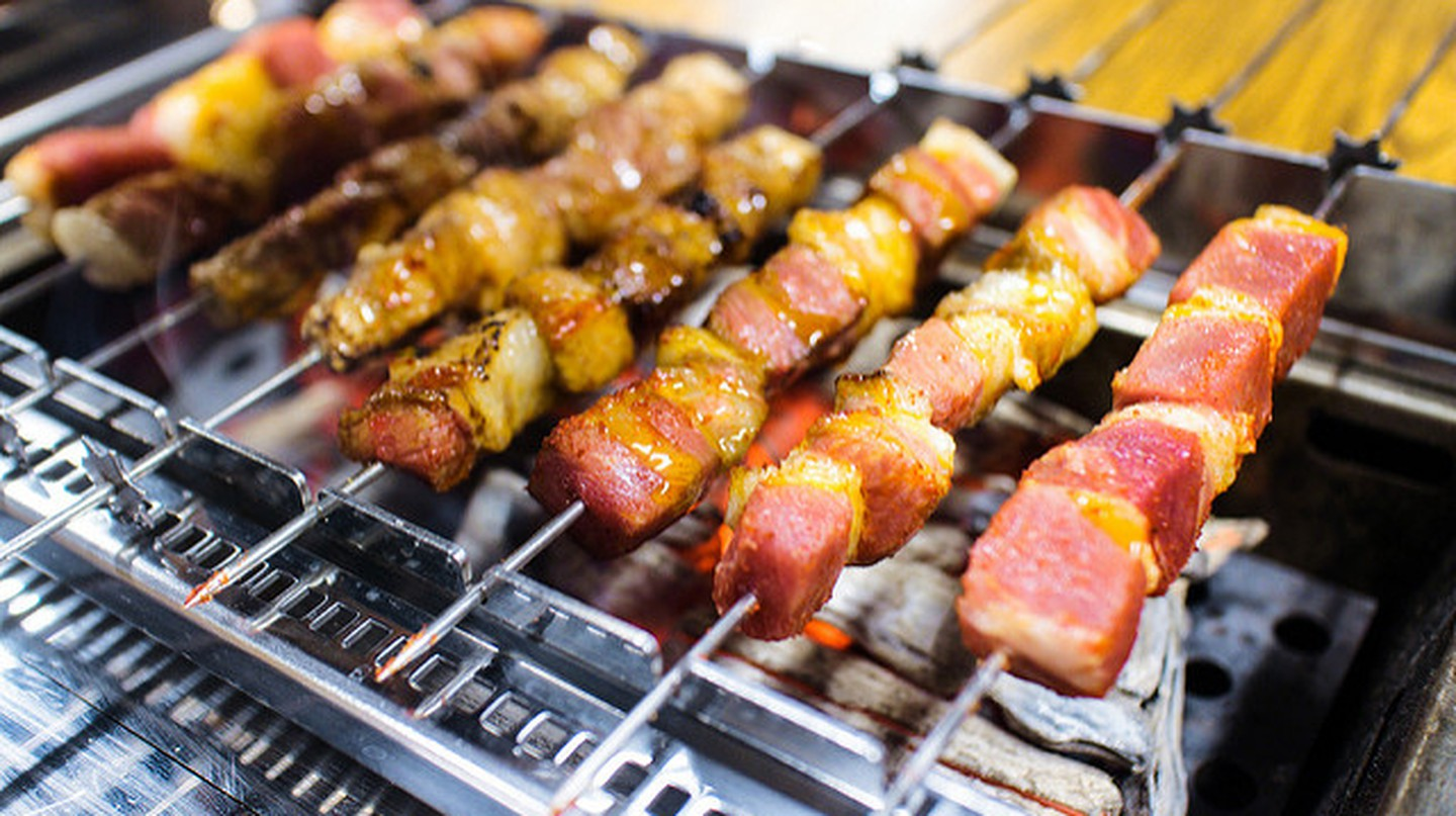 Seoul barbecue © Jermaine Hou/Flickr