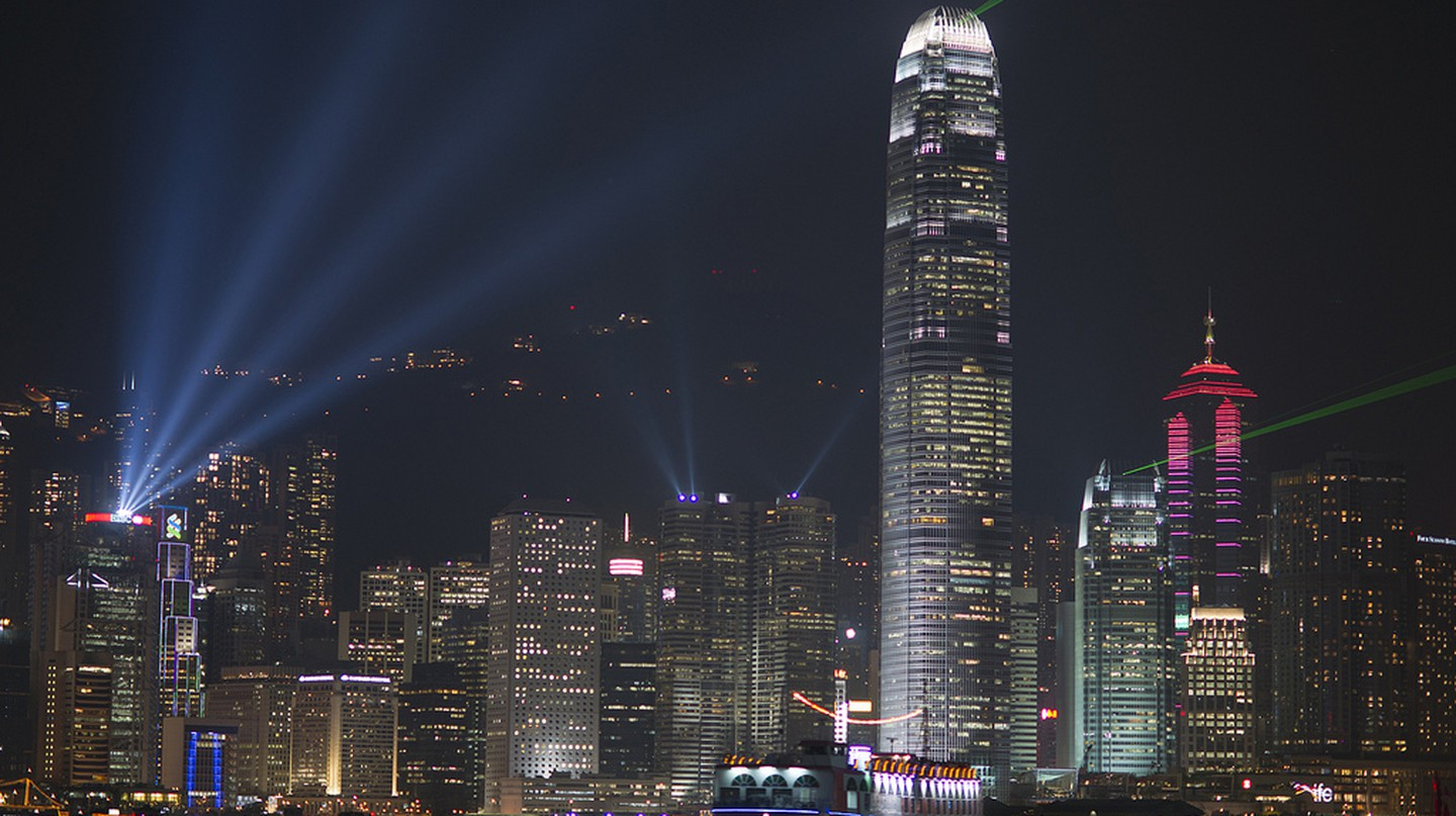 Hong Kong Lazer Show | © Barbara Willi/Flickr