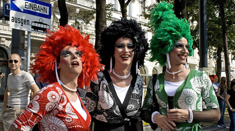 Rainbow Parade in Vienna