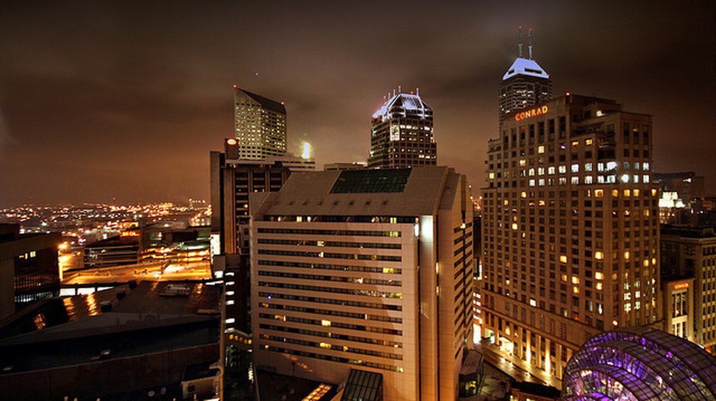 Downtown Indianapolis I © Intiaz Rahim/Flickr