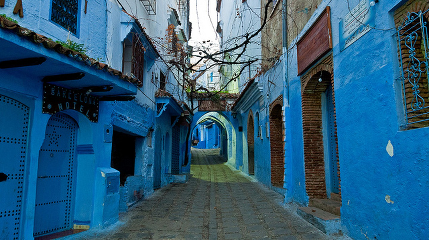 Chefchaouen Street I © Mark Fischer/Flickr