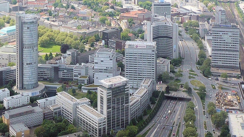 Essen-Südviertel, Blick von Osten   © Wiki05/WikiCommons