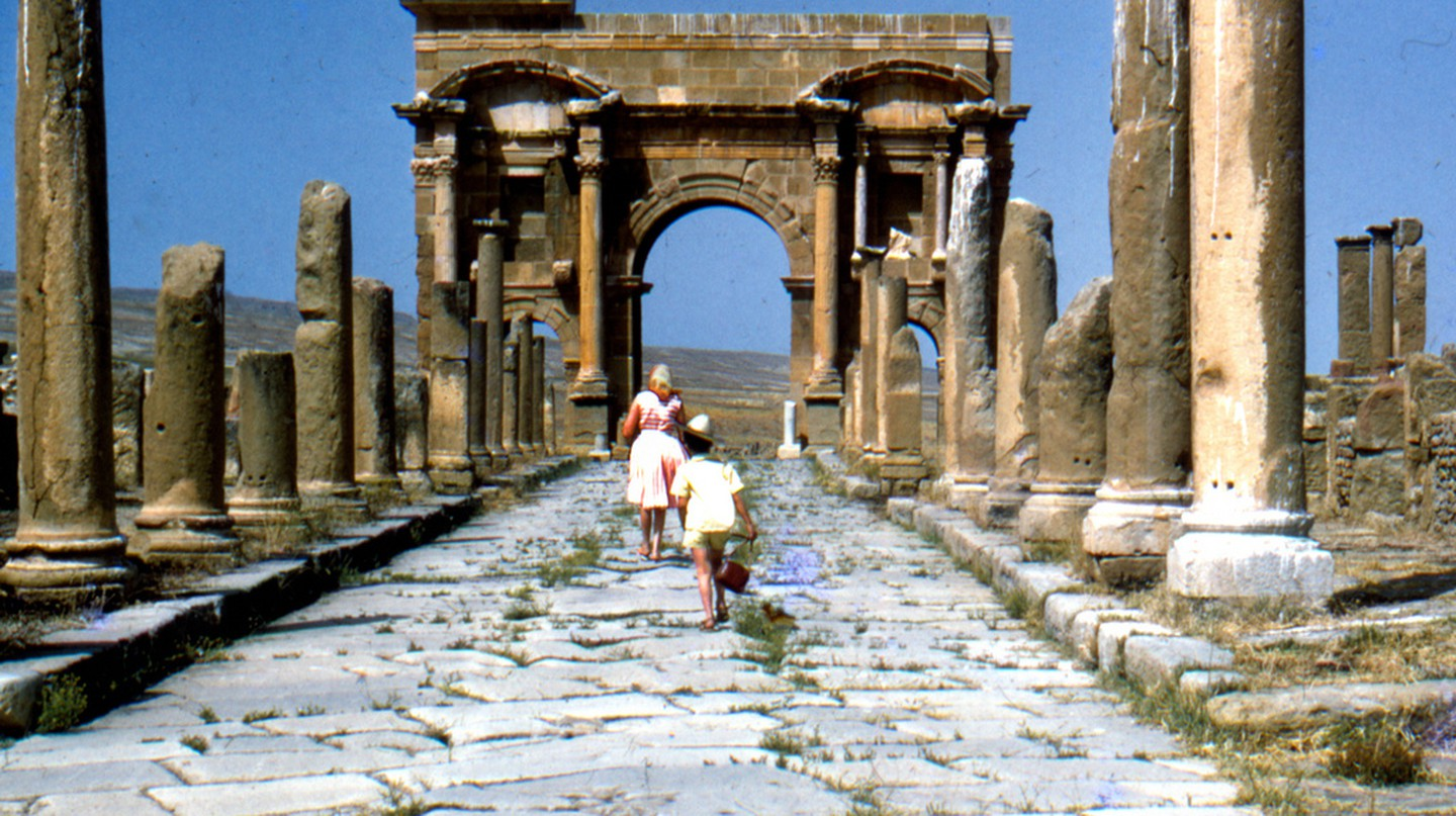 Timgad in the 60s © OMAR-DZ/Flickr