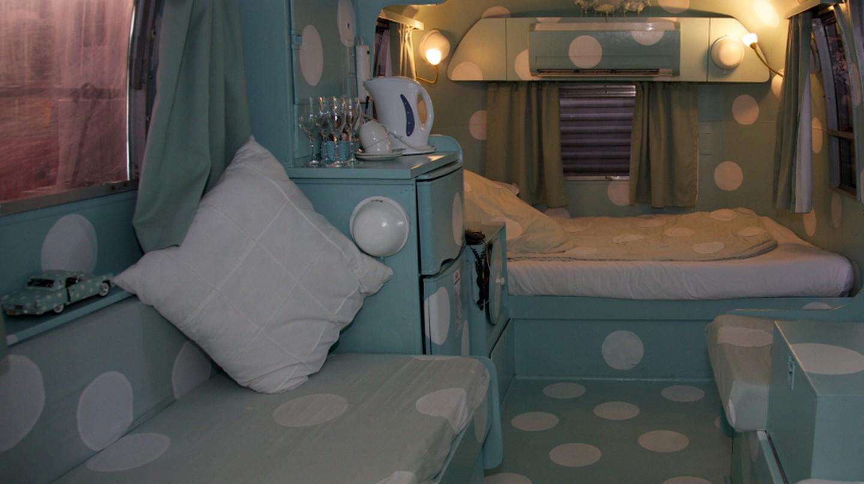 "Inside the Airstream 'Dorothy"" | © David Brossard/Flickr"