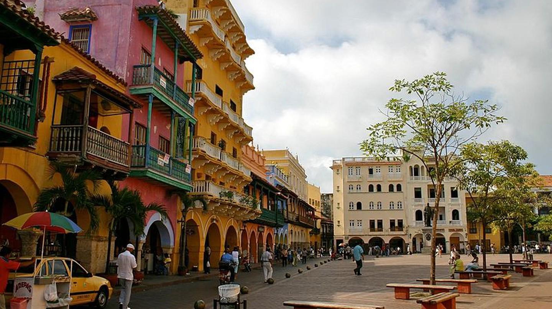 Plaza@Cartagena © WikiCommons