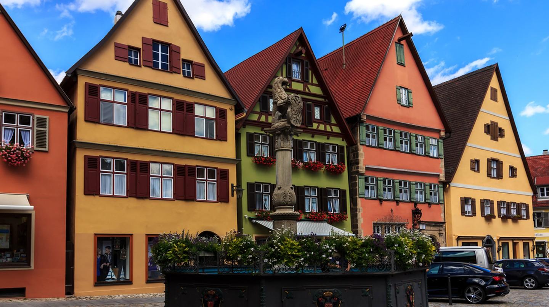 Dinkelsbuhl - Bavaria - Germany