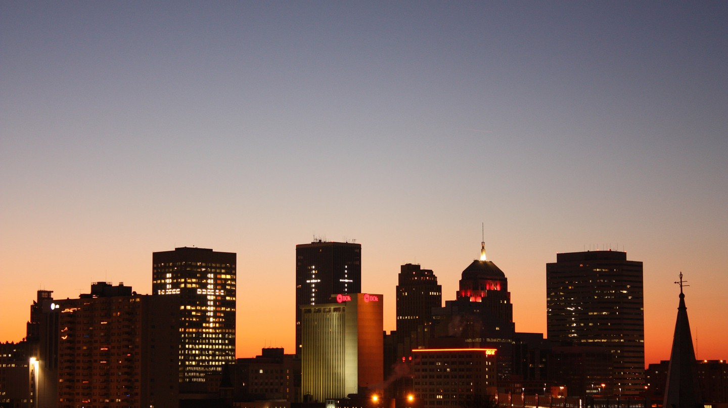OKC Skyline | ©Flickr/Paul L. McCord Jr.
