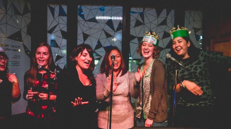 Open-mic Karaoke | Courtesy of Gladstone Hotel