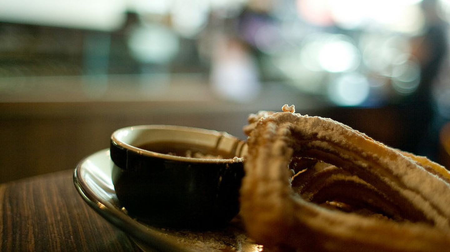 Churros sans restraint © Tim Lucas/Flickr