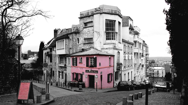 La Maison Rose, Montmartre | © charmar/Flickr