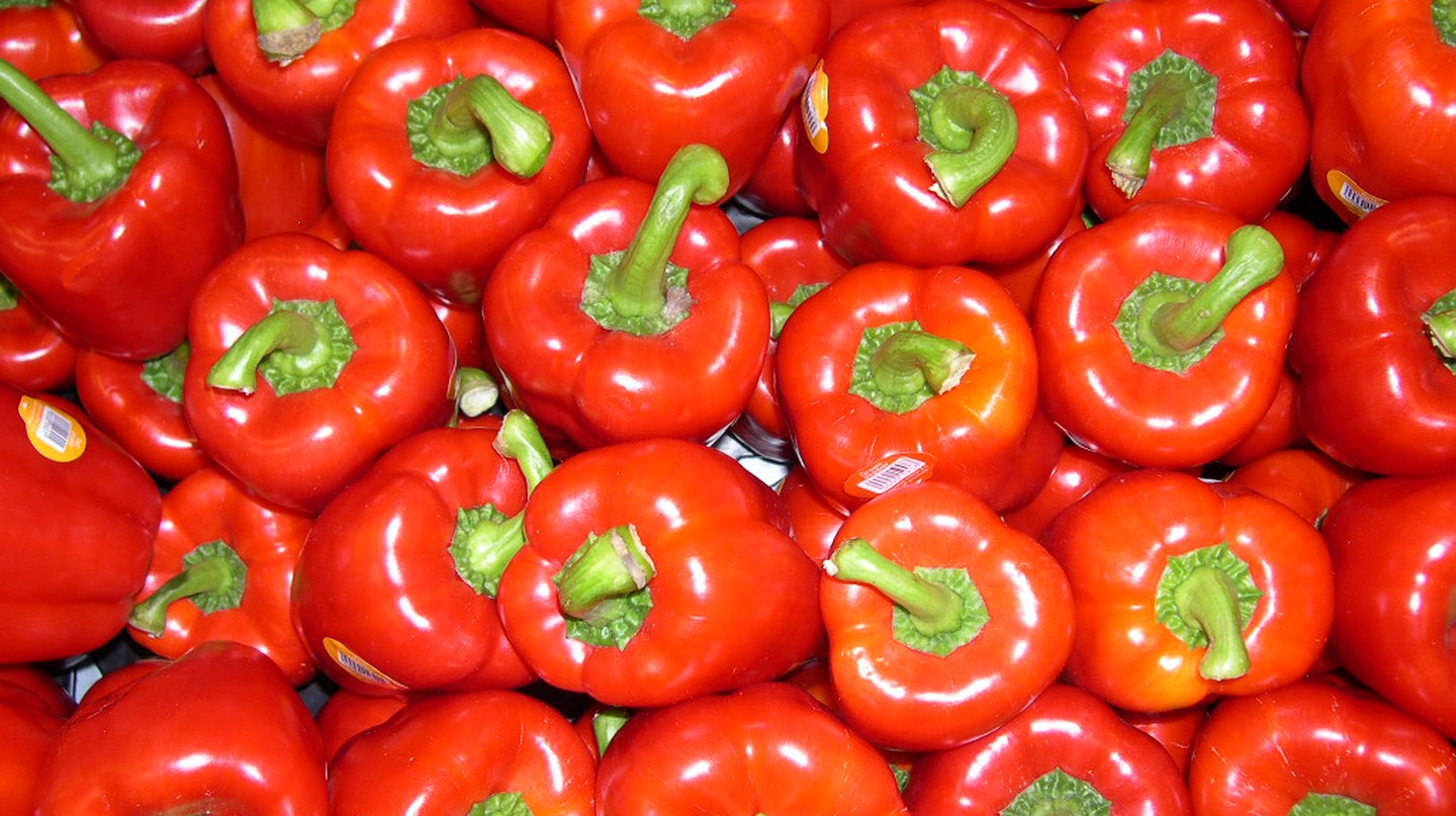 Red Peppers |© pin add/Flickr