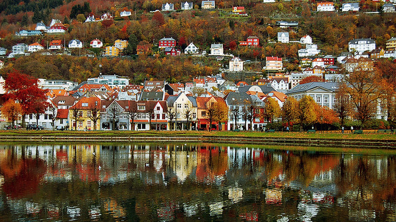 lille lungegårdsvann, bergen © Vidar Flak/Flickr