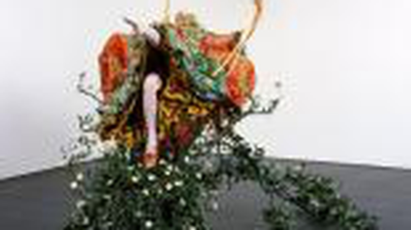 Yinka Shonibare, MBE 'The Swing (after Fragonard)' 2001, © artist. Courtesy of the artist and Tate Collection, London.