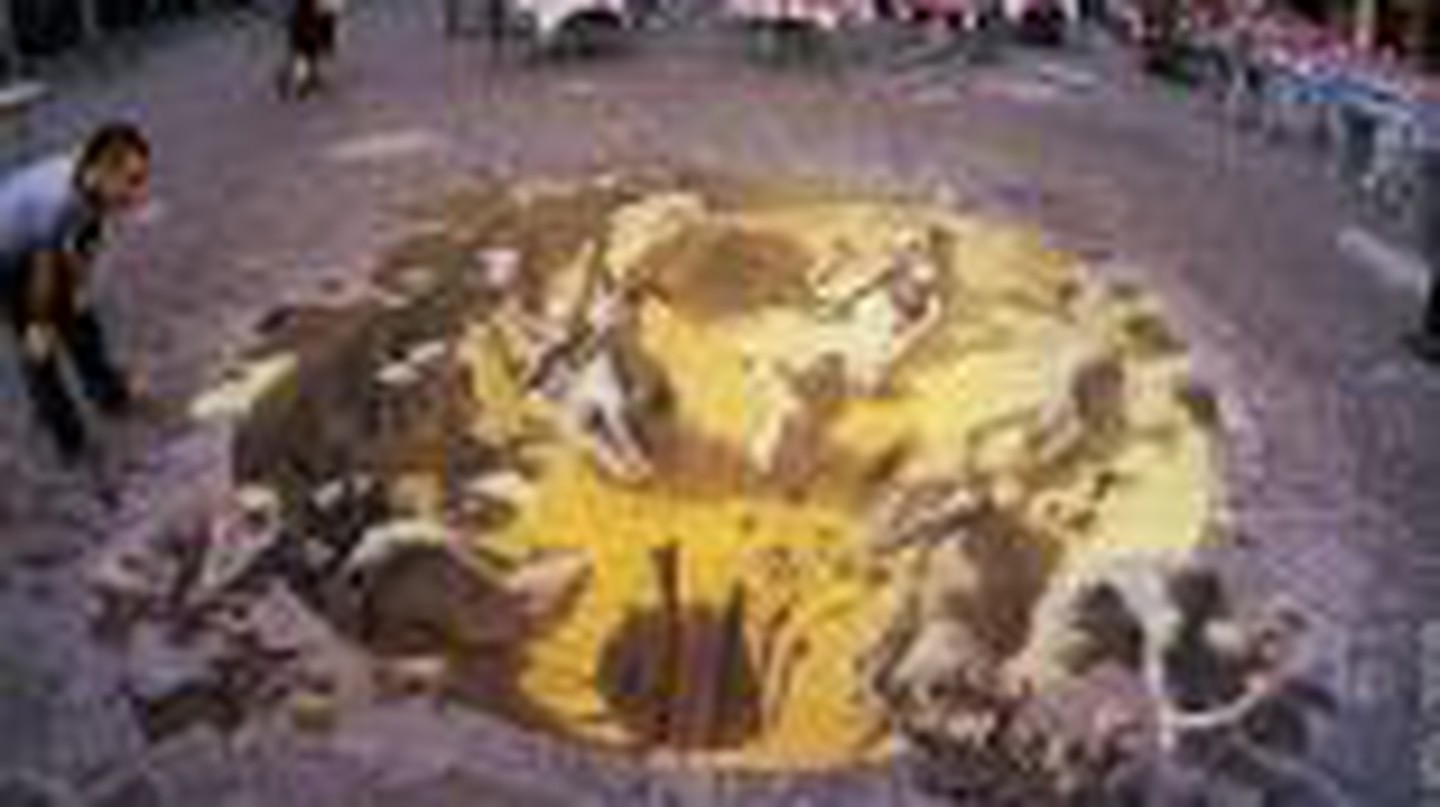 Kurt Wenner: Classical Street Art for the Pope and Greenpeace