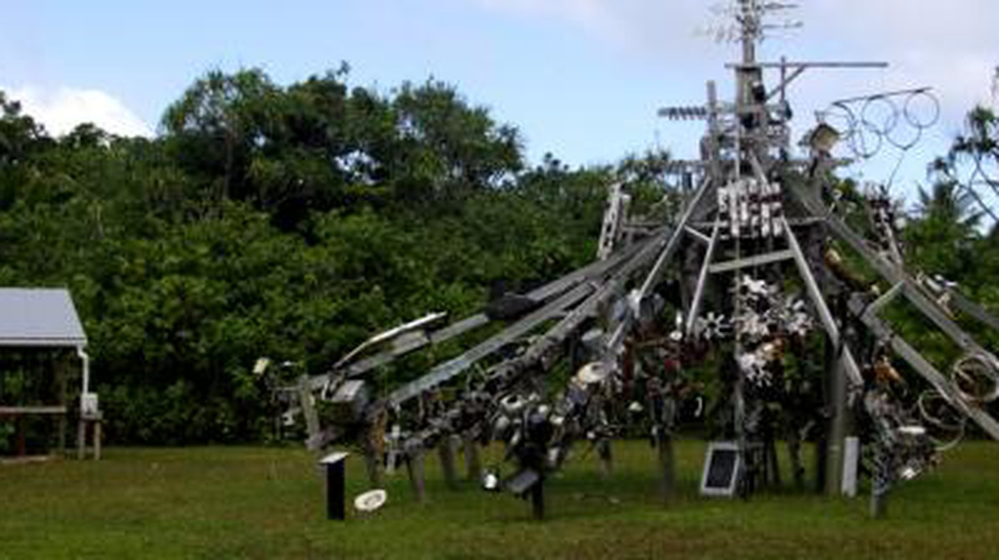 Niue's Hikulagi Sculpture Park: A Global Microcosm