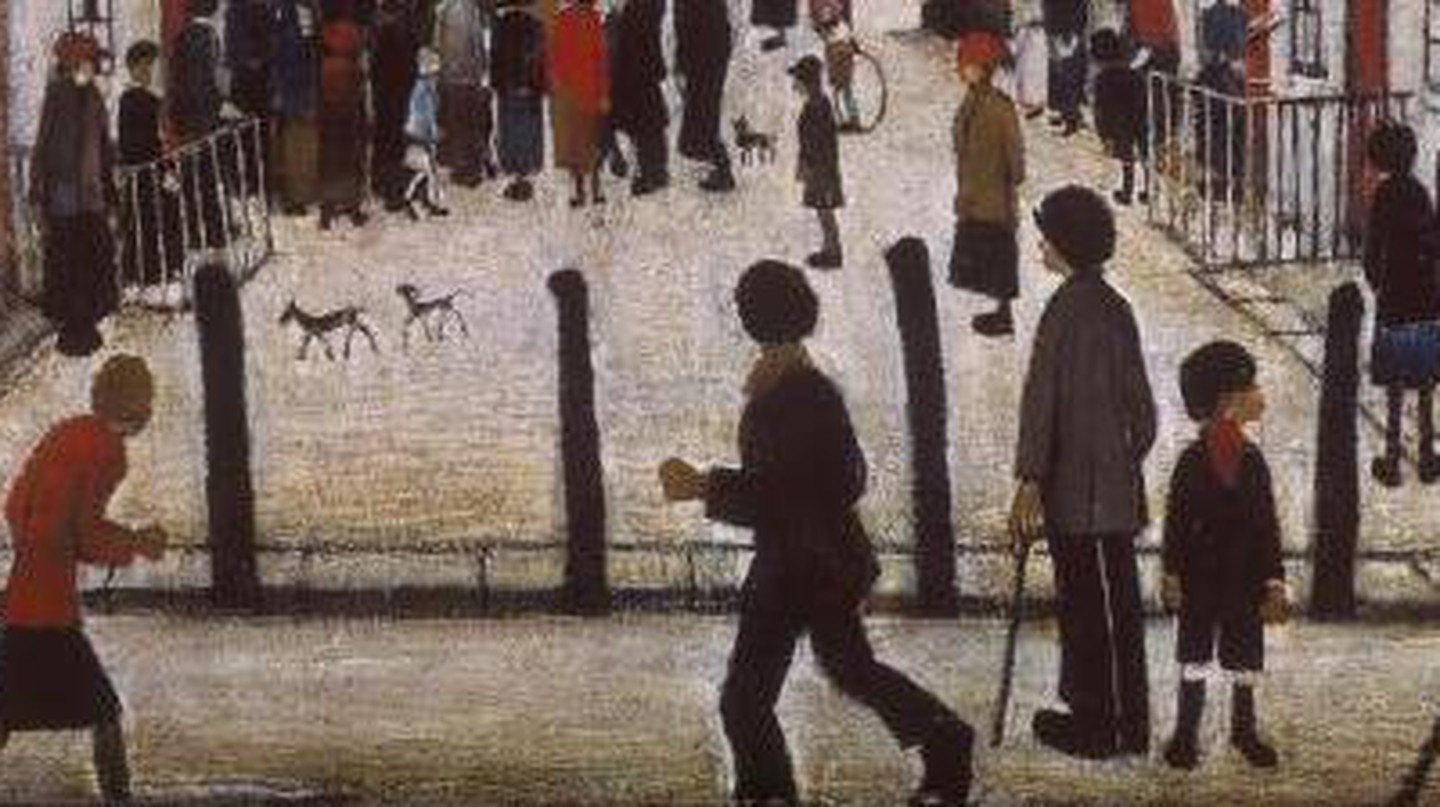 LS Lowry: The Strange Beauty In Poverty And Gloom