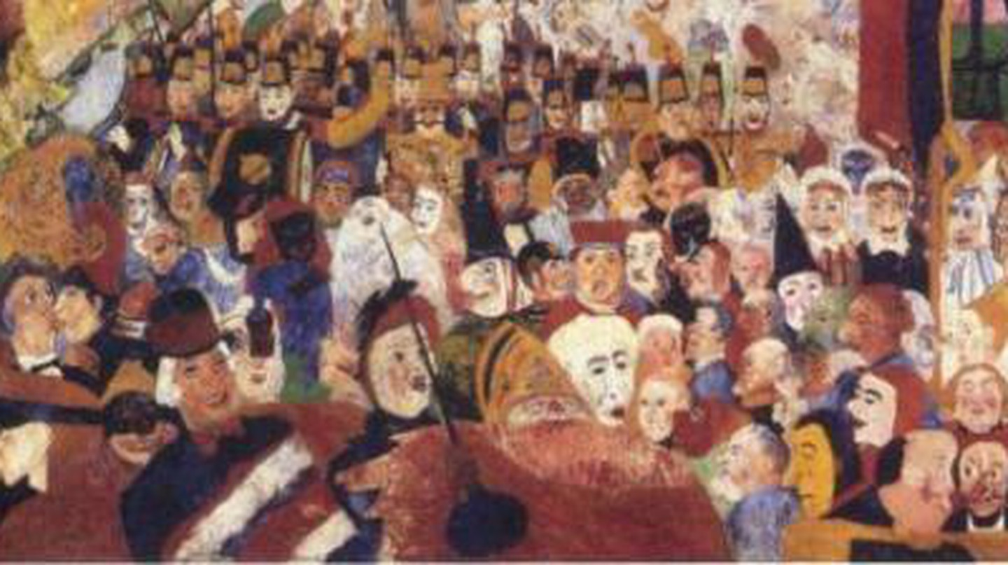 James Ensor: Masquerading Master of the Grotesque