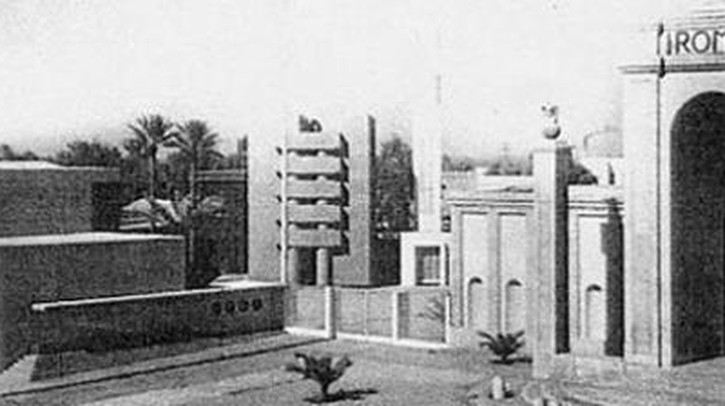 The Space Of Control: Fascism and Architecture in Libya