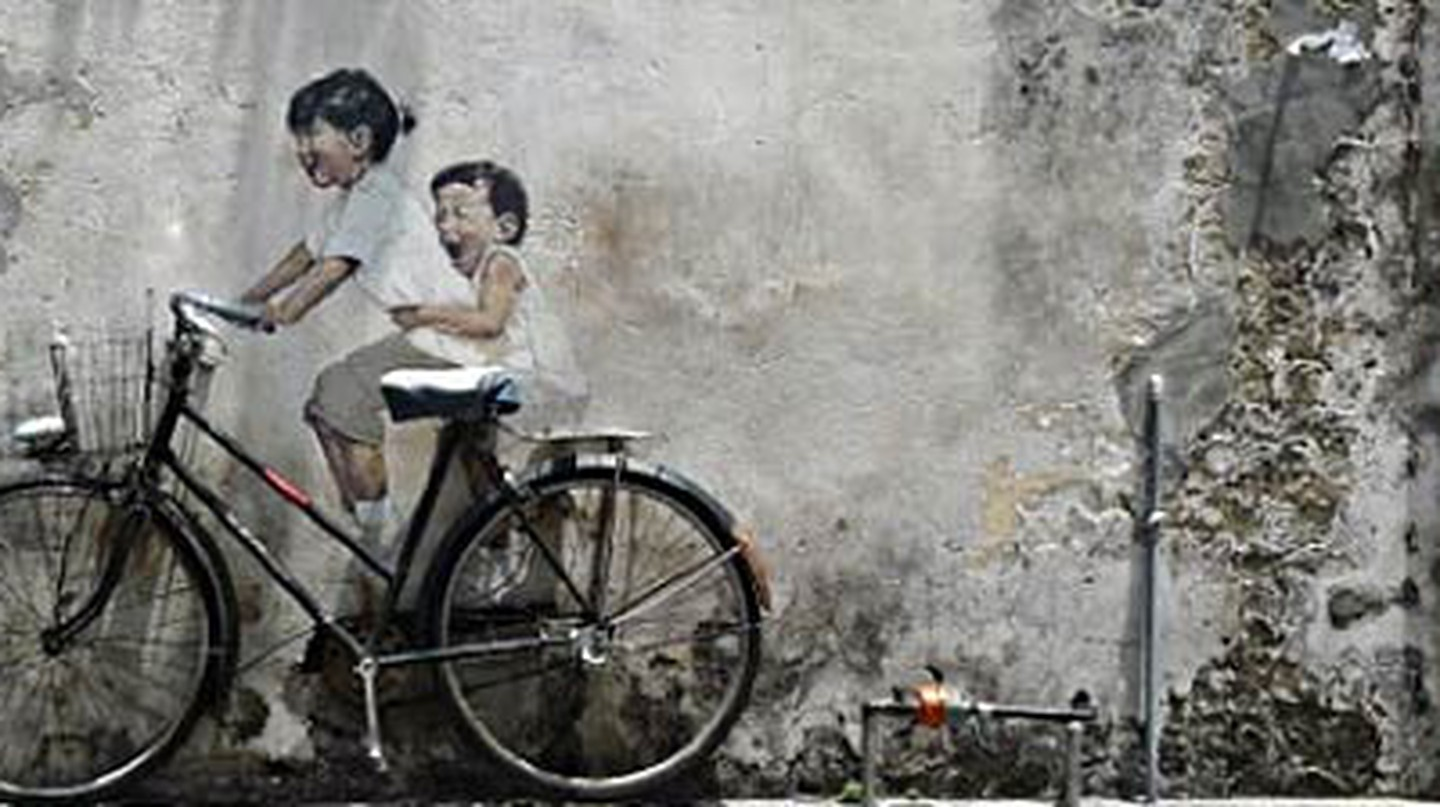 The Best Street Art in George Town, Penang