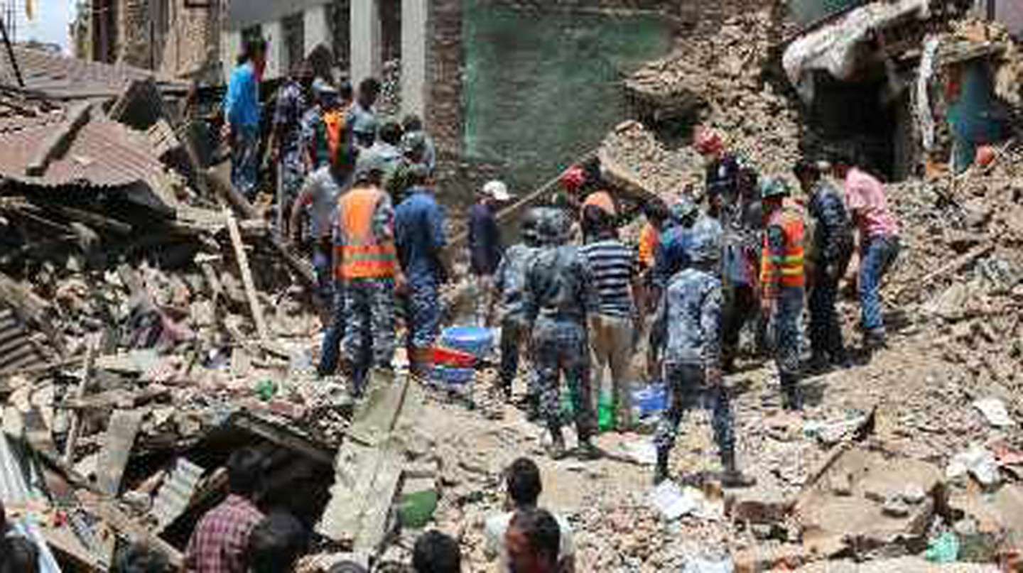 Cultural Losses In Nepal From The Kathmandu Earthquake