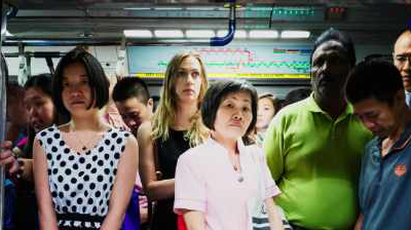 Singapore in 'Transit' | Commuters Captured on the City's MRT