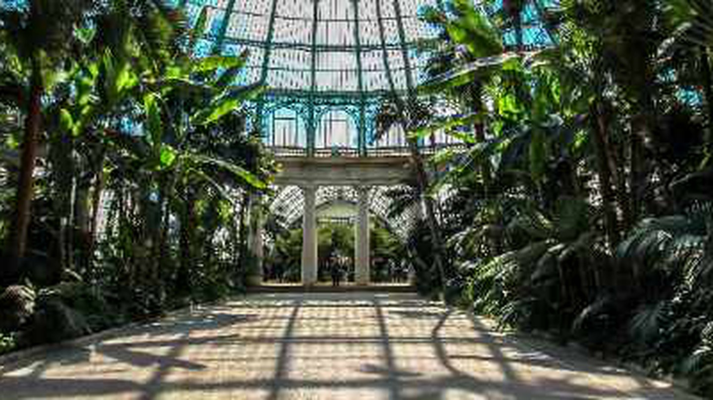The Royal Greenhouses Of Laeken And The Father Of Art Nouveau