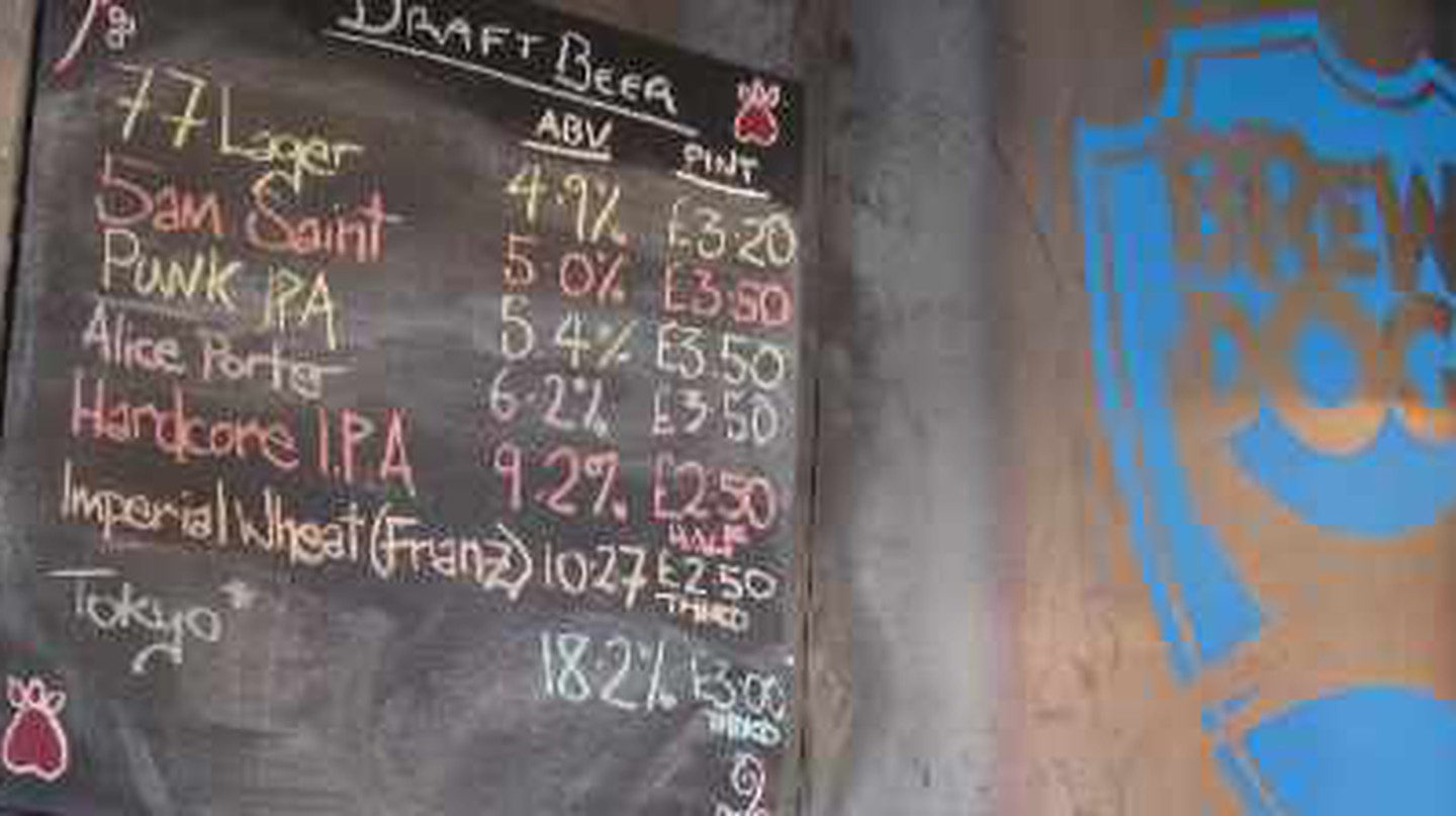 BrewDog in Cowgate is one of the best bars in Old Town