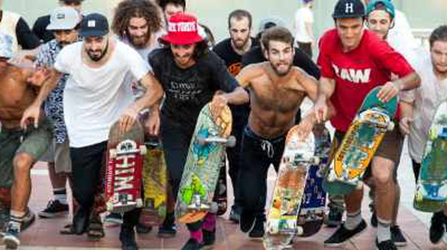 Dolores Promoting Israel's Underground Skateboarding Culture
