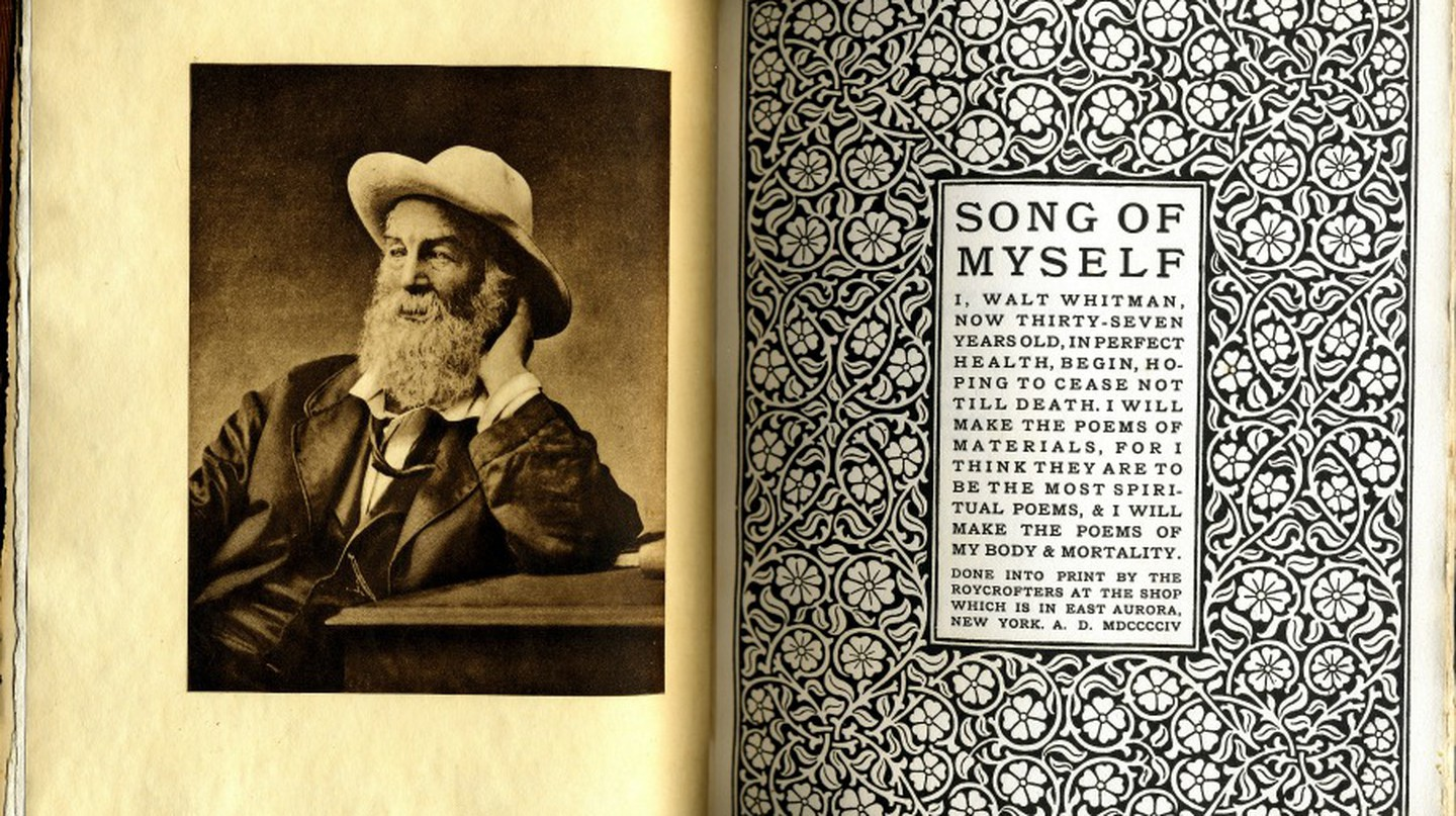 Song of Myself by Walt Whitman, Roycroft 1906 | ©  William Creswell/Flickr