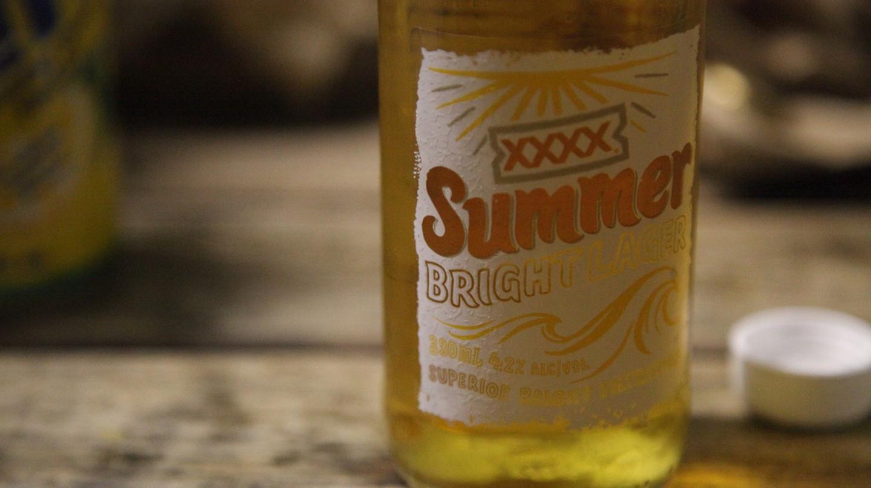 XXXX Summer Bright beer © Kate Ausburn/Flickr