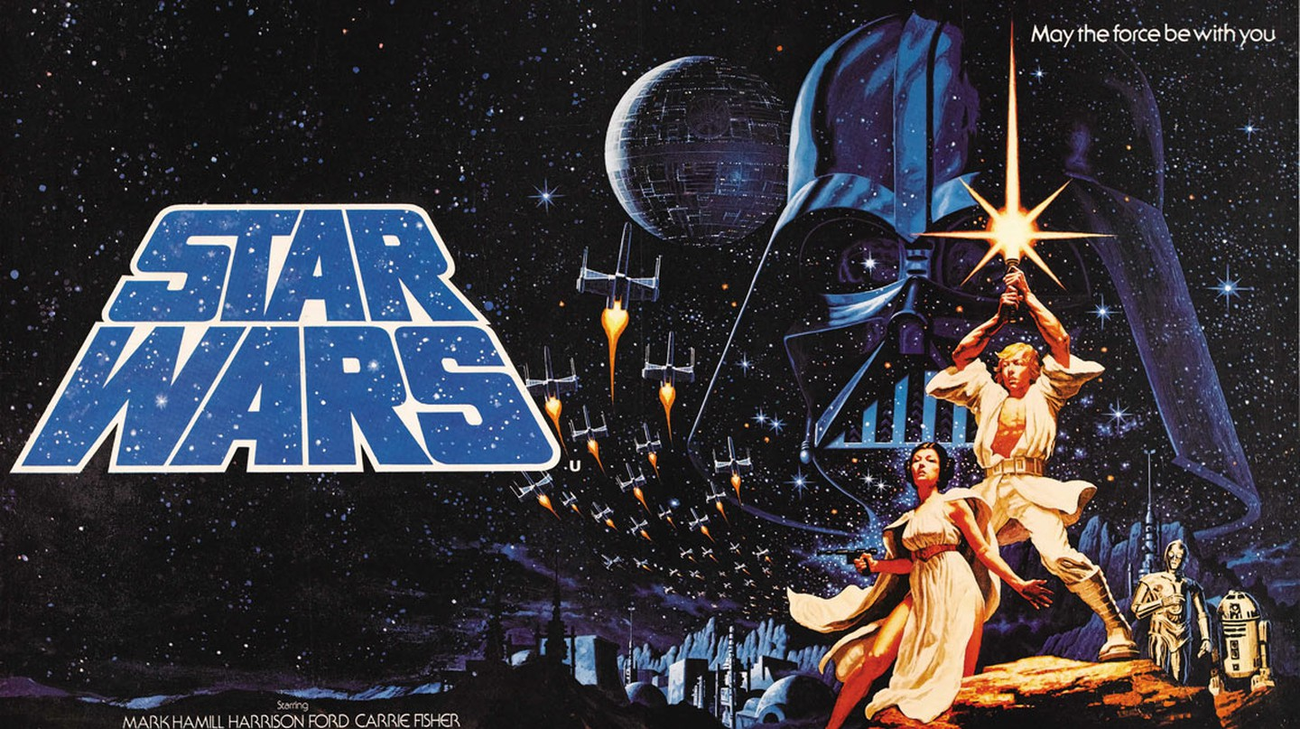 Star Wars poster (1977) | © Thomas S. / Flickr