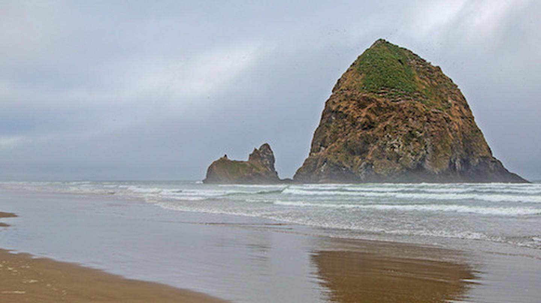 Haystack Rock   © Ralph Arvesen/Flickr