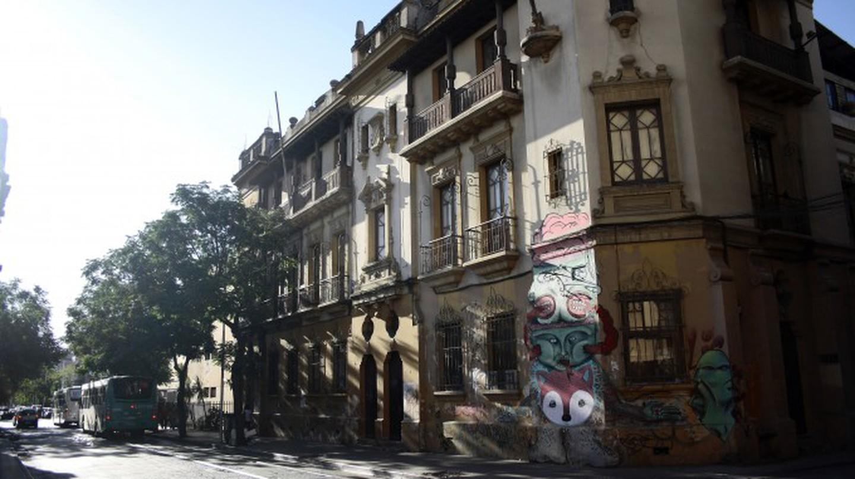 Barrio Brasil Santiago Chile | © Michael Paul Stevens/WikiCommons