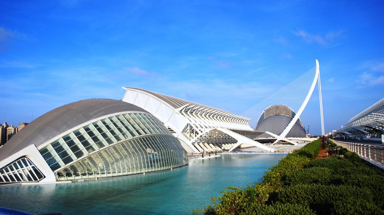 Ciudad de las Artes y las Ciencias, Valencia  | © Maribelle71/ Wikipedia
