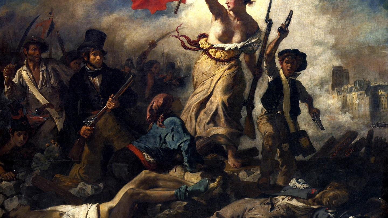 La Liberté Guidant le Peuple, Eugène Delacroix   © Wikimedia Commons