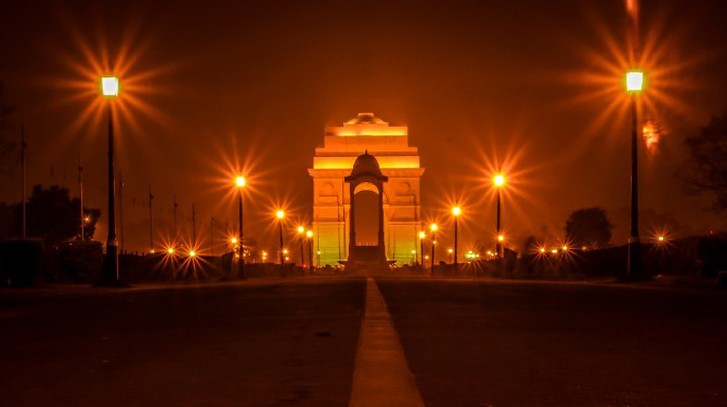 India Gate at Night | © Nashrkhan/WikiCommons