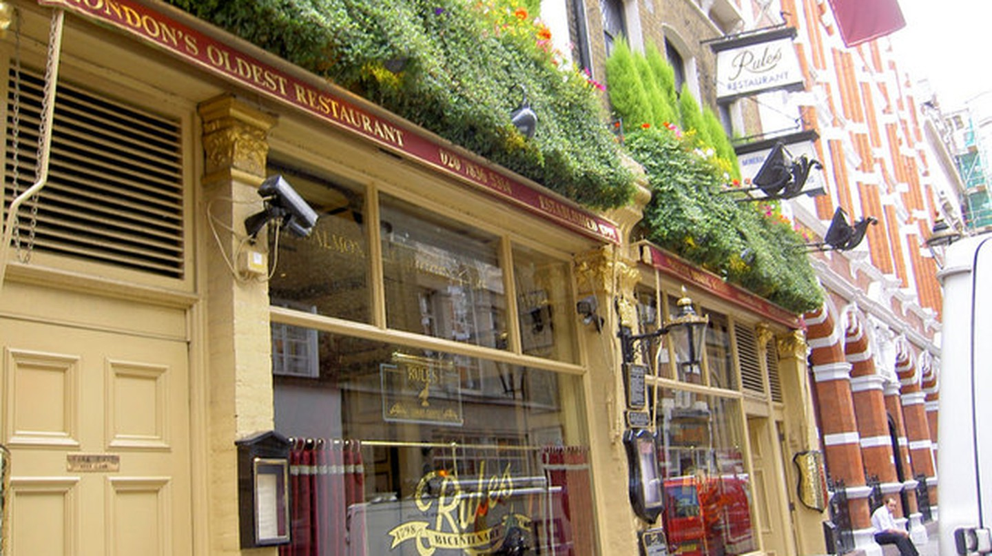Exploring Rules, The Oldest Restaurant In London