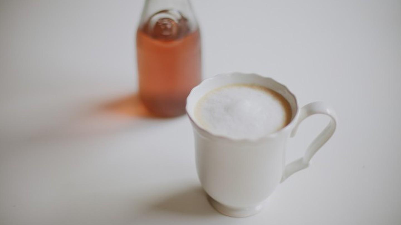 Lavender latte   © Abi Porter/Flickr