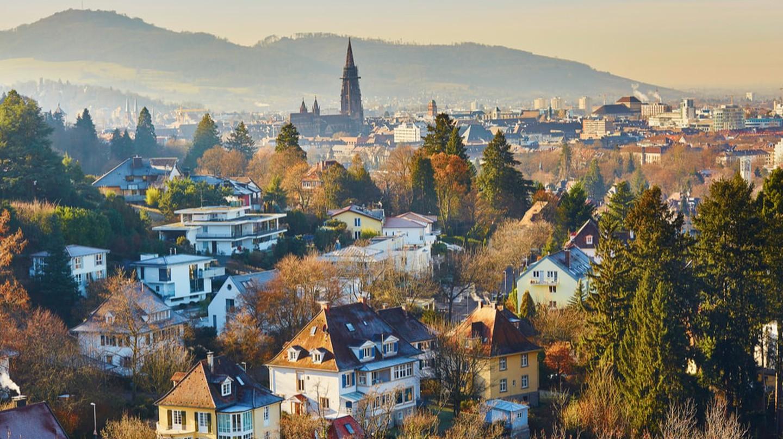 Beautiful city of Freiburg, Germany