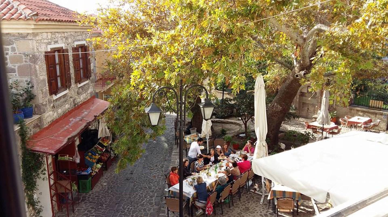 enjoying greek cuisine at Geia Mas ©Courtesy of Geia Mas