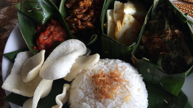 Vegetarian Nasi Campur|©Kars Alfrink/Flickr
