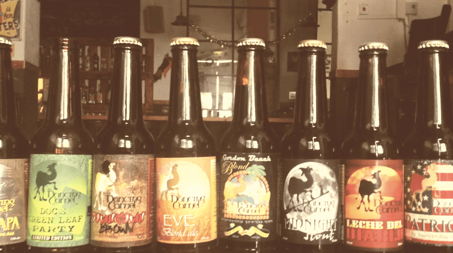 Dancing Camel's Bottled Beers | Courtesy of Dancing Camel