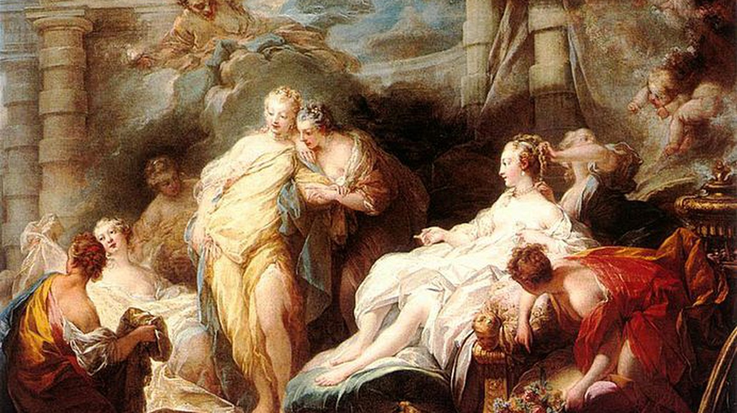 Psyche showing her Sisters her Gifts from Cupid © Andrew0921/WikiCommons