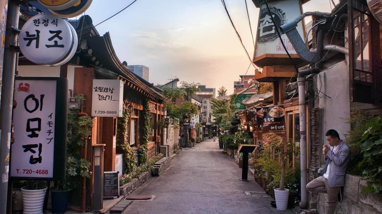 Insadong Seoul South Korea © Katie Haugland