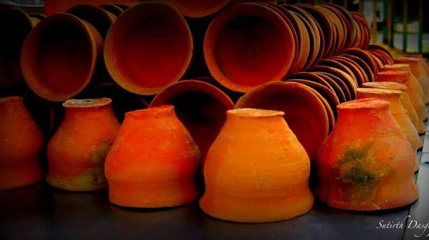 Clay Tea Cups | © Sutirth Dasgupta