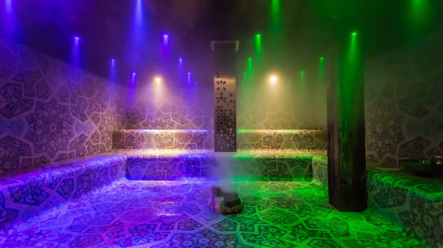 Steam Room | Courtesy of Hammam Spa