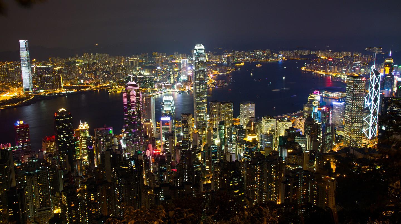 Hong Kong lights | © Jaume Escofet/Flickr