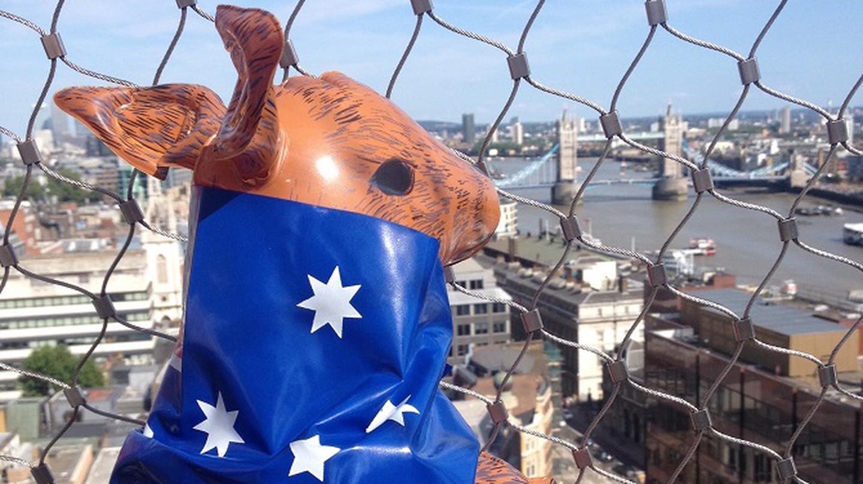 Celebrating Australia Day In London
