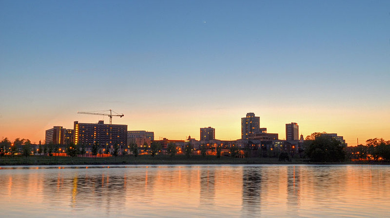 New Brunswick Skyline at Sunset   (c) Forevaclevah/WikiCommons