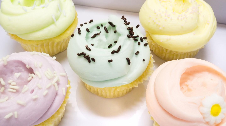 Vanilla Cupcakes from Magnolia's Bakery